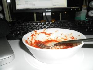 Scoob's special pasta